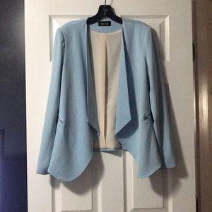 Jackets & Blazers - Light blue blazer